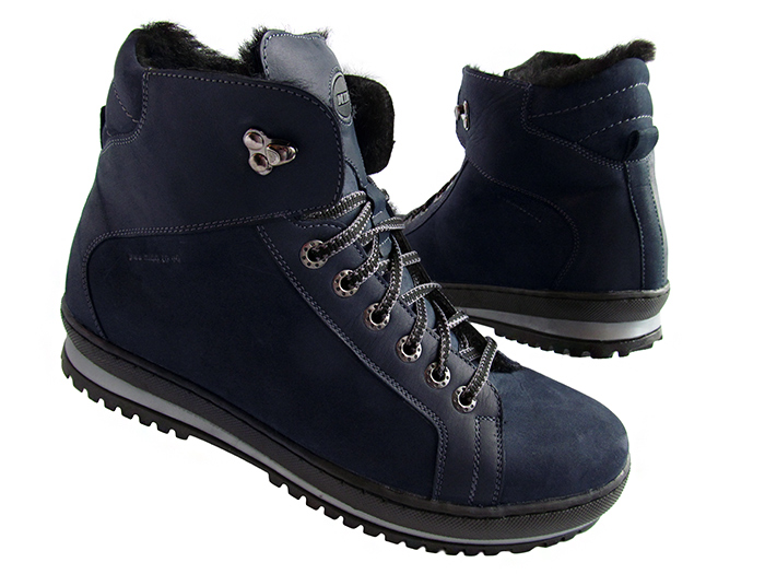ПОСТУПИЛИ!Ботинки мужские зимние, верх - из натуральной овечьей кожи, внутреннее утепление - из